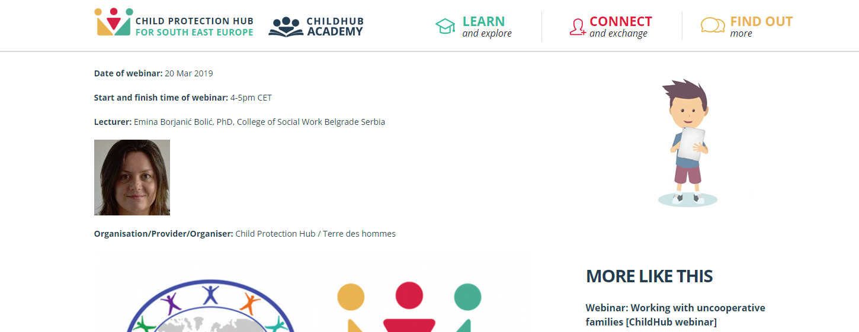 "Profesorka doc. dr Emina Borjanić Bolić učestvovaće na webinaru ""Burnout in child welfare profession"""
