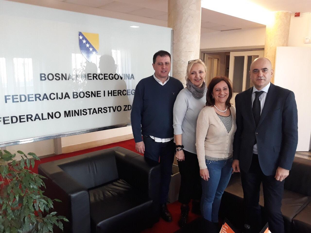 Poseta VŠSR ustanovama i udruženjima u Federaciji BiH