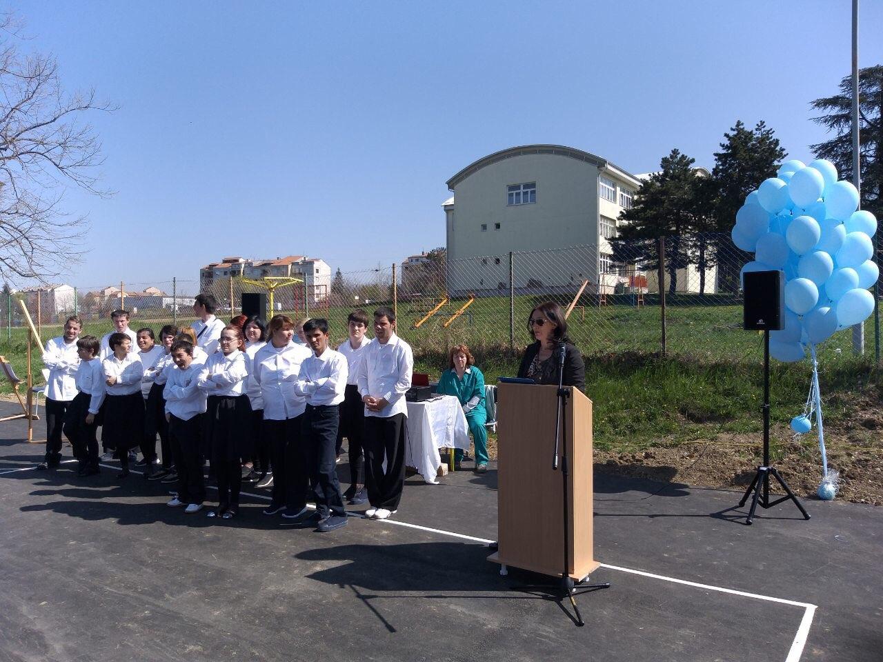 """Povodom Svetskog dana osoba sa autizmom prisustvovali smo svečanosti u Ustanovi za decu i mlade """"Sremčica"""""""