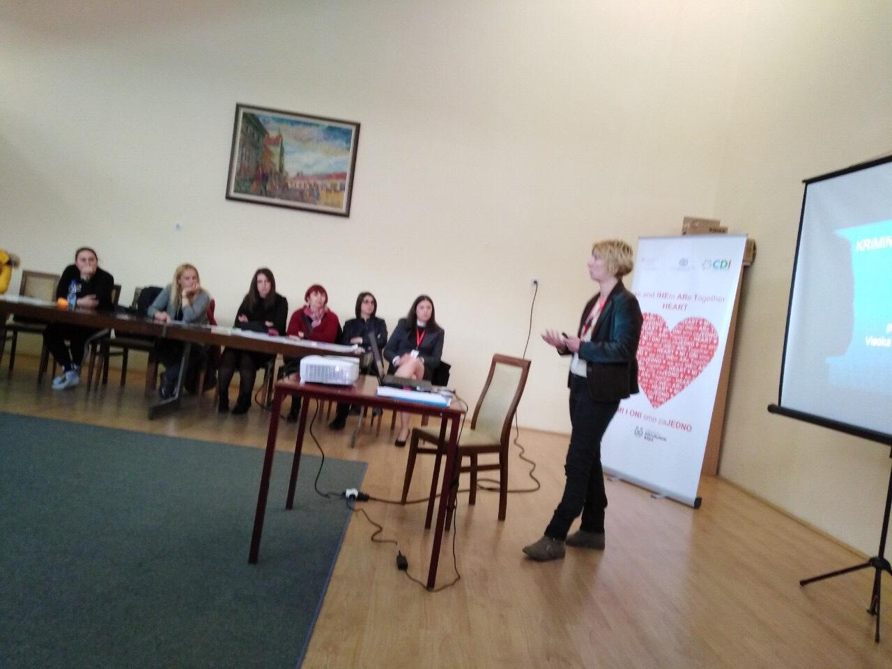 """Projekat  """"MI I ONI smo zaJEDNO"""" – 23.04.2019. u Vranju je održana prva radionica pod nazivom """"Obrazovanje dece migranata"""""""