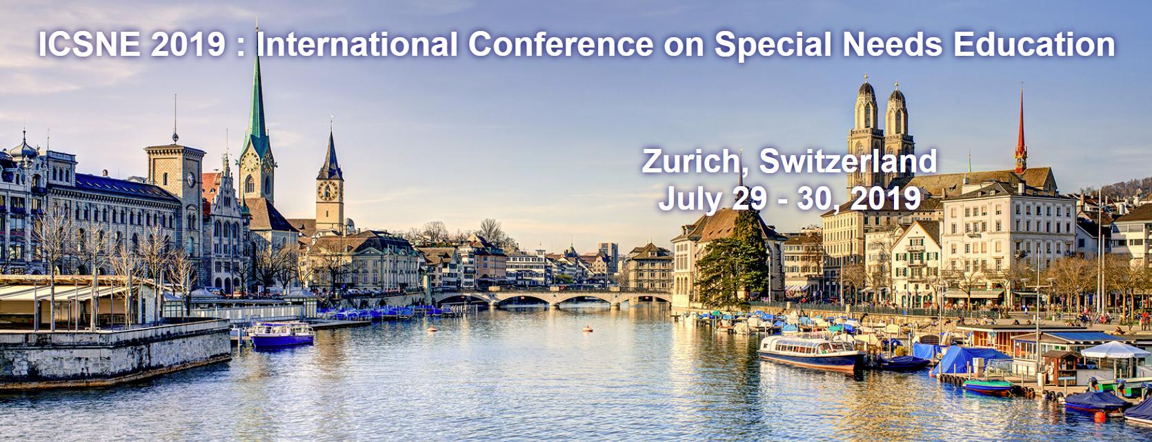 Doc. dr Ivana Ristić će učestvovati na međunarodnoj naučnoj konferenciji ICSNE 2019: 21st International Conference on Special Needs Education,