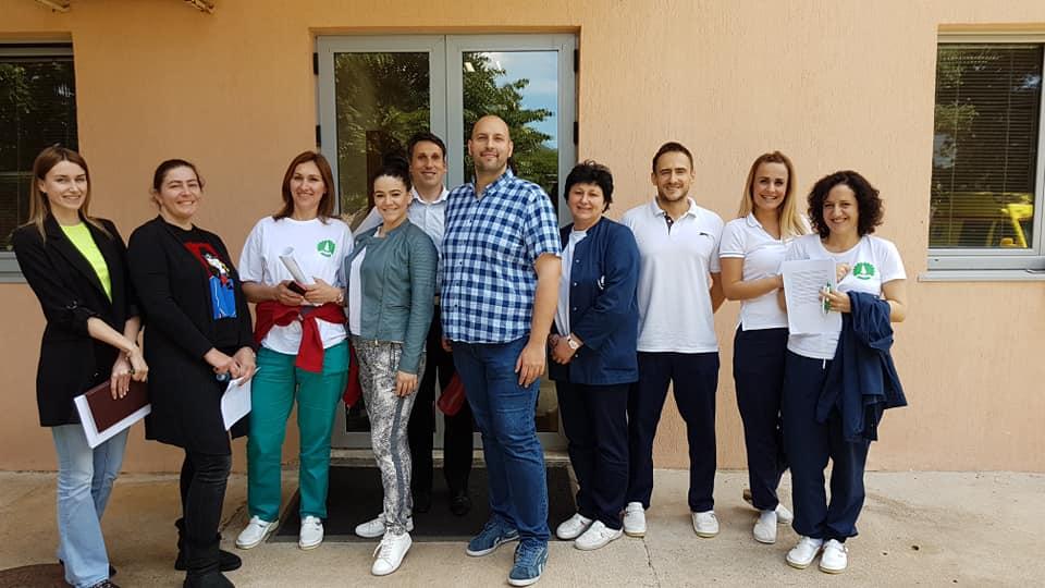 """Održana edukacija """"PRIMENA KLEIN BELL SKALE AKTIVNOSTI SVAKODNEVNOG ŽIVOTA"""" u Domu starih """"Grabovac"""", Risan, Crna Gora"""