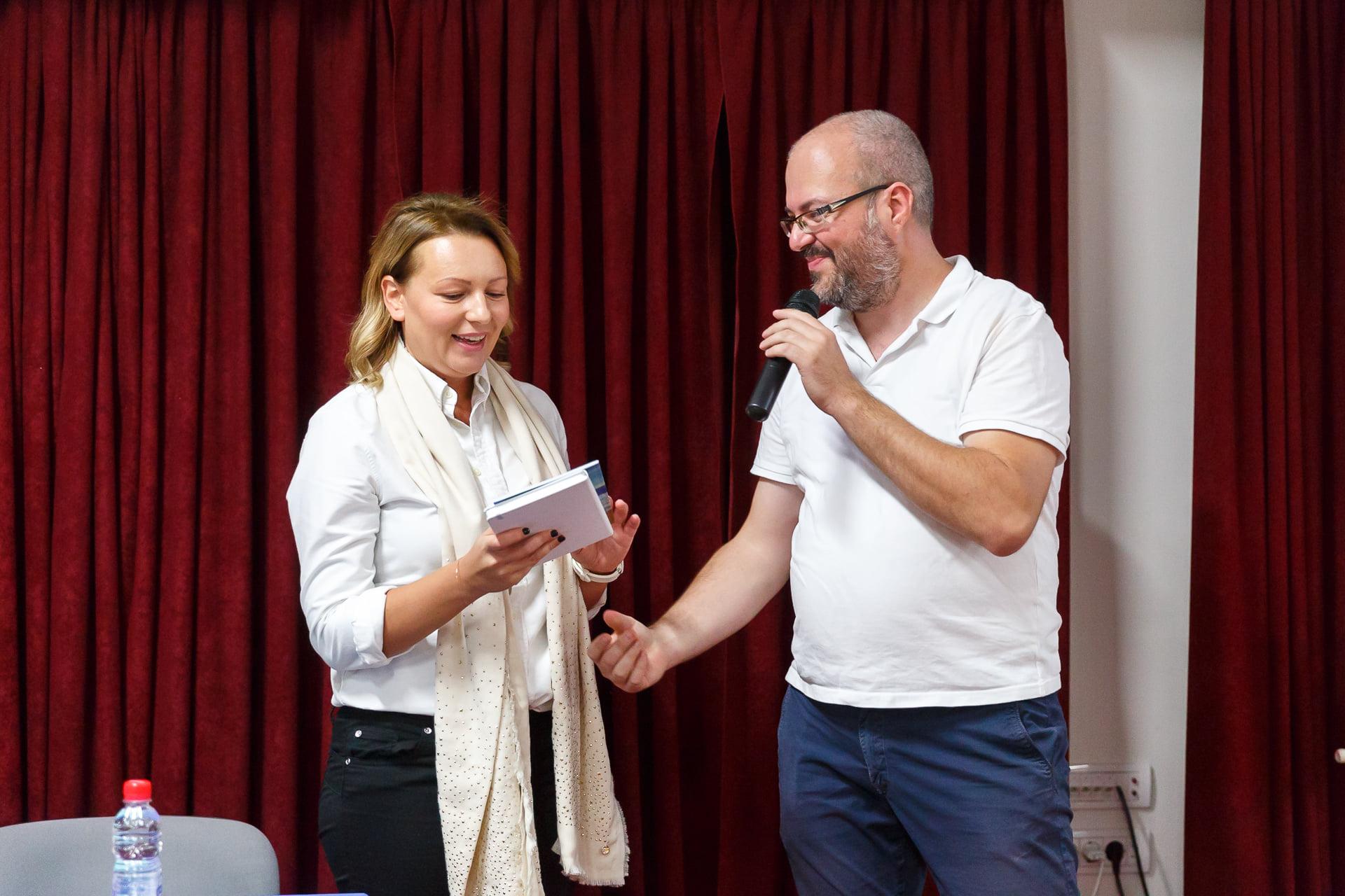 """Profesorka Neda Milošević održala predavanje na temu prevencije disleksije na Međunarodnoj konferenciji """"Iskoraci u tretmanu govorno-jezičkih poremecaja""""."""