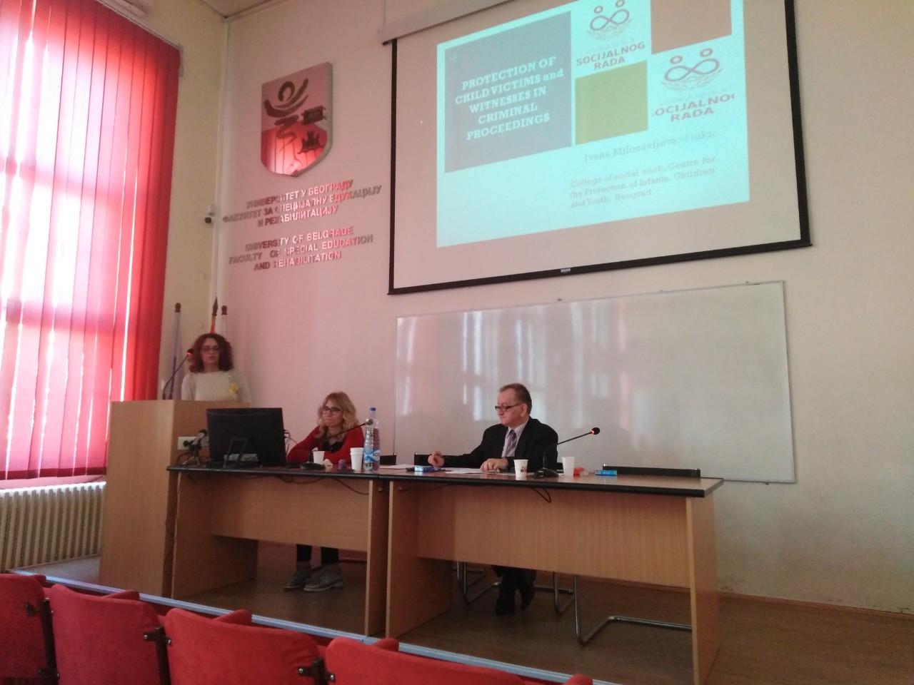 Doc. dr Ivana Milosavljević-Đukić imala izlaganje na 10. Međunarodnom skupu – Specijalna edukacija i rehabilitacija DANAS