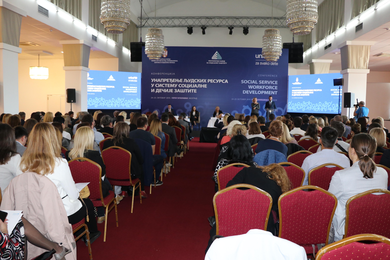 """Izveštaj sa Konferencije """"Unapređenje ljudskih resursa u sistemu socijalne i dečije zaštite"""""""