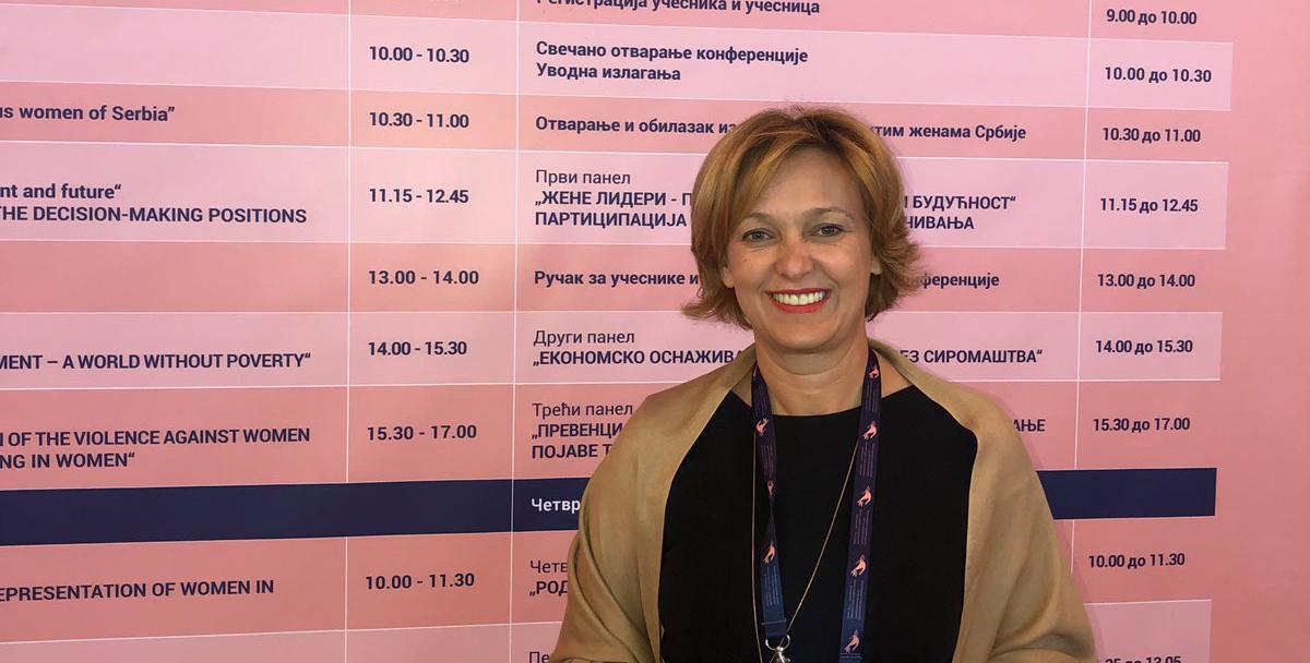 """Profesorka Ljiljana Manić prisustvovala Međunarodnoj konferenciji """"Žene lideri i održivi razvoj – istinskiravnopravne"""""""
