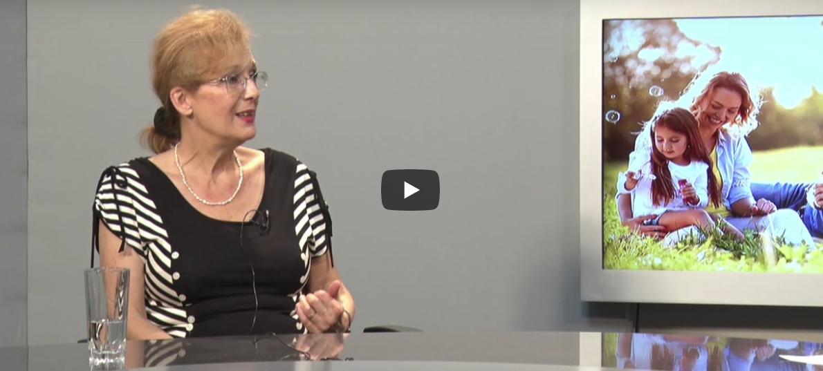 Profesorka Tatjana Milivojević govori o porodici i porodičnim vrednostima na TV Koreni