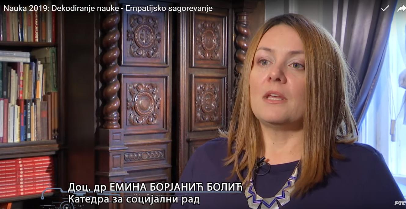 RTS2: Profesorke Tatjana Milivojević i Emina Borjanić Bolić u emisiji o empatijskom sagorevanju