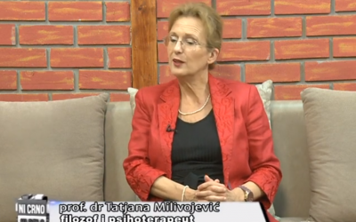 "Prof. dr Tatjana Milivojević o mentalnom zdravlju u emisiji ""Ni crno ni belo"" – TV KCN"