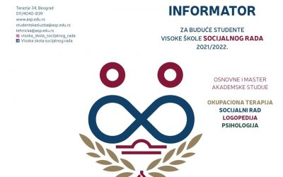 Informator za upis 2021/22